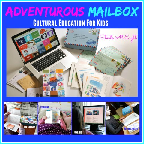 Adventurous Mailbox Cultural Education for Kids from Starts At Eight
