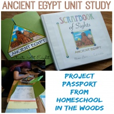 Ancient Egypt Unit Study from Home School in the Woods