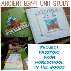 Ancient Egypt Unit Study from Homeschool in the Woods - Starts At Eight