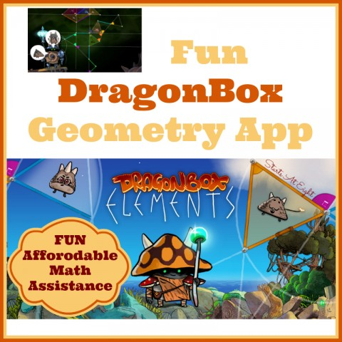 Fun DragonBox Geometry App from Starts At Eight