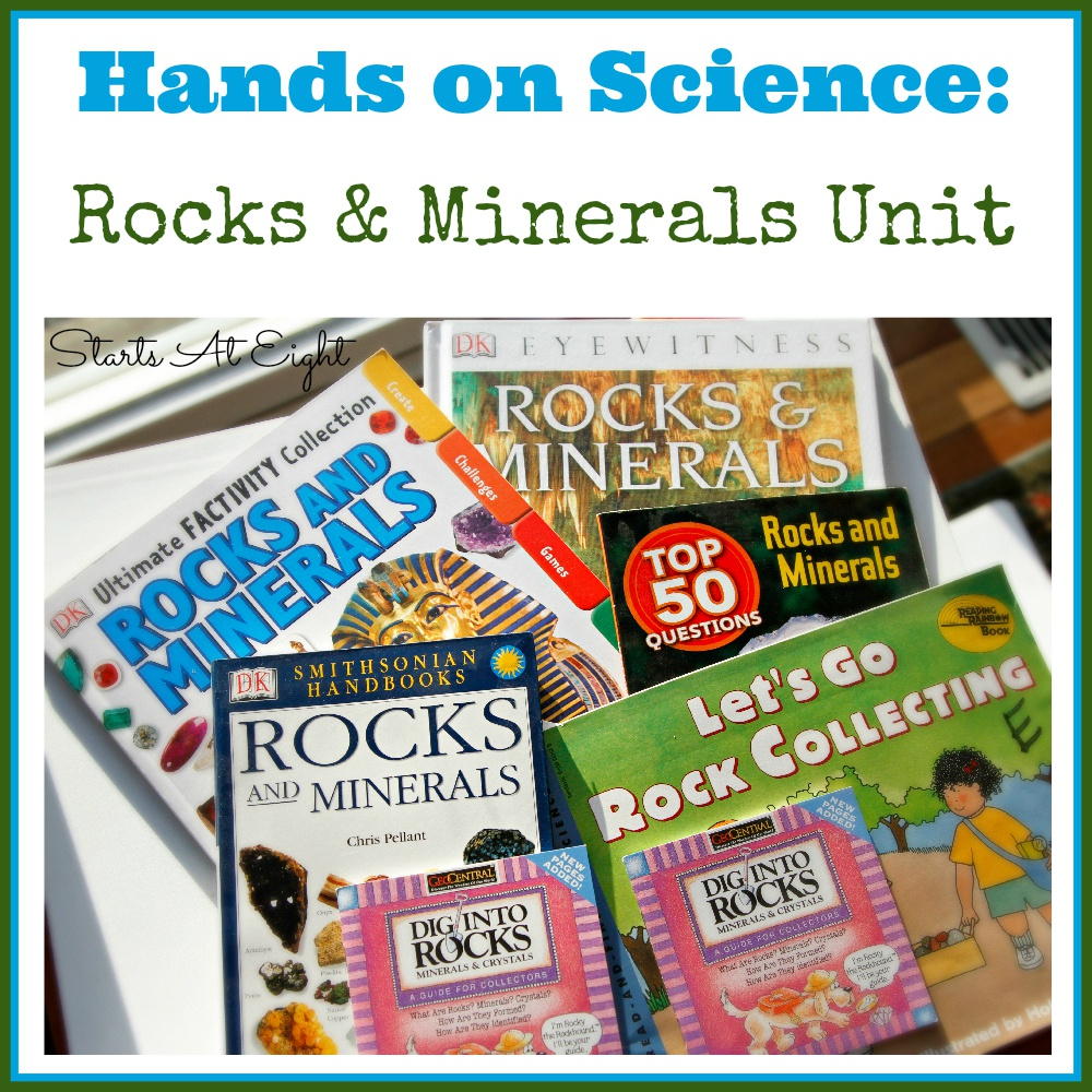 Hands On Science: Rocks & Minerals Unit