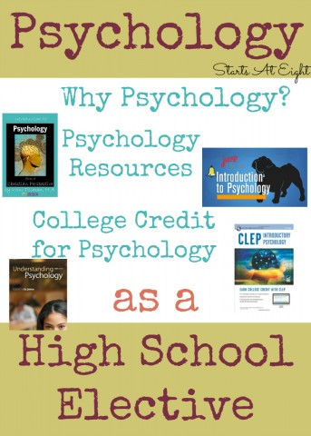 Psychology as a High School Elective Options from Starts At Eight