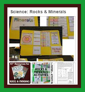 Rocks & Minerals Pinterest Board from Starts At Eight