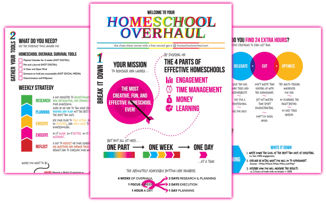 Sparketh's FREE  Homeschool Overhaul
