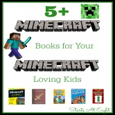 5+ Minecraft Books For Your Minecraft Loving Kid