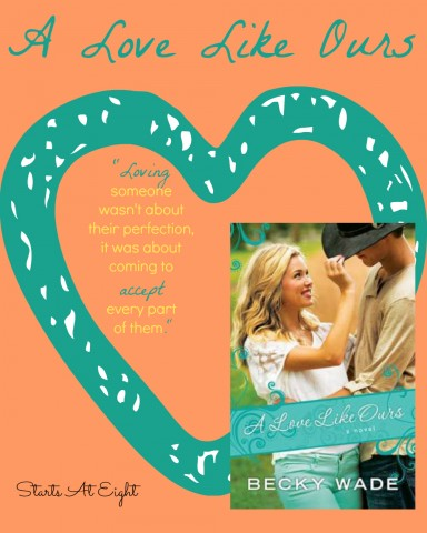 Book Review: A Love Like Ours from Starts At Eight