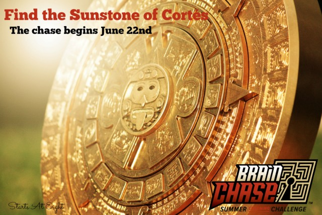 Brain Chase - Find the Sunstone 2015 from Starts At Eight