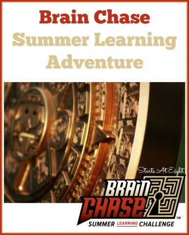 Brain Chase Summer Learning Adventure from Starts At Eight