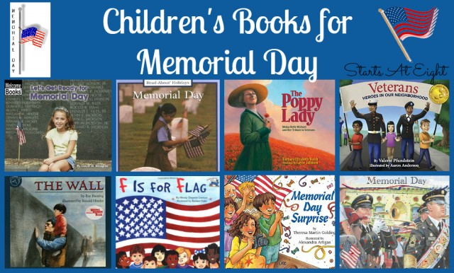 Children's Books for Memorial Day from Starts At Eight