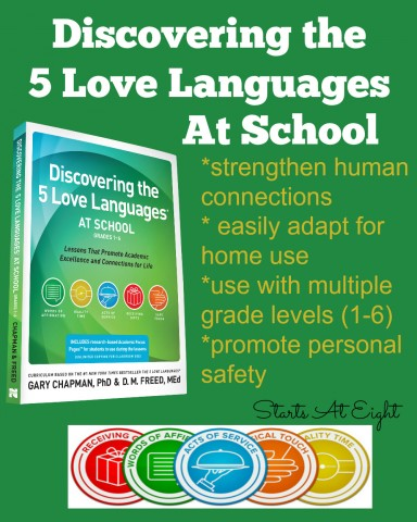 Curriculum Review: Discovering the 5 Love Languages At School from Starts At Eight