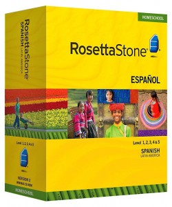 Rosetta Stone Spanish Homeschool
