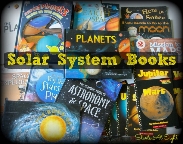 Solar System Books from Starts At Eight