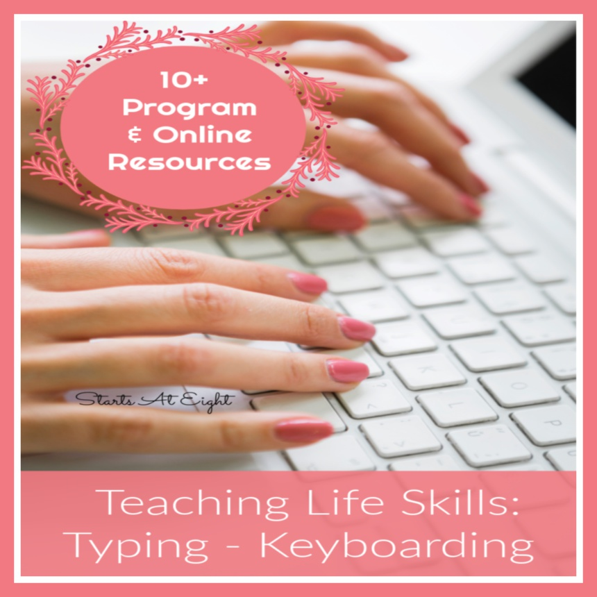 Teaching Life Skills: Typing – Keyboarding Resources