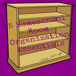 5 Homeschool Room Organization Essentials
