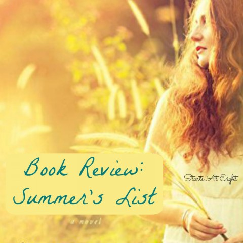 Book Review: Summer's List from Starts At Eight