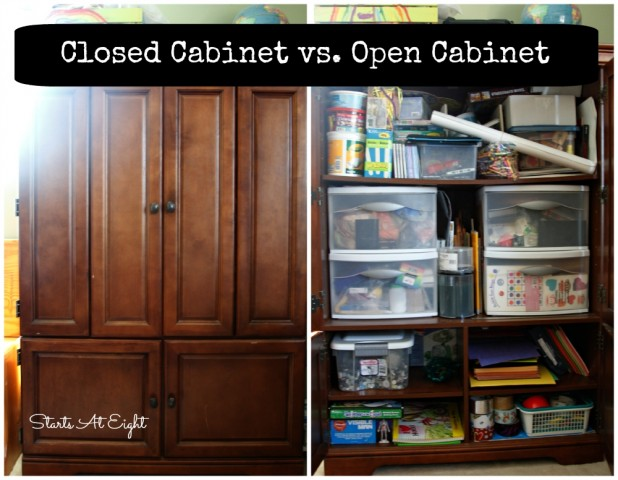 Closed Cabinet vs. Open Cabinet