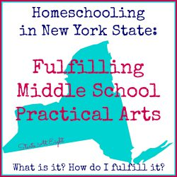 Homeschooling in New York State: Fulfilling Middle School Practical Arts