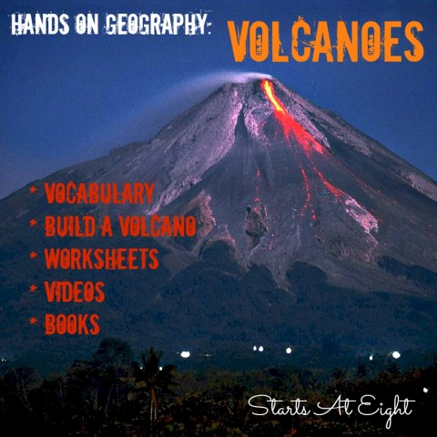 Hands On Geography: Volcanoes from Starts At Eight