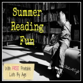 Summer Reading Fun With FREE Printable Lists By Age