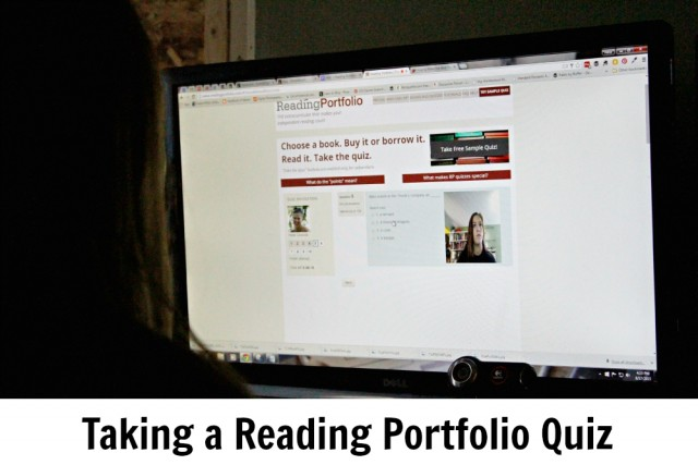 Taking a Reading Portfolio Quiz