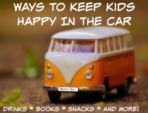 Ways To Keep Kids Happy In The Car from Starts At Eight