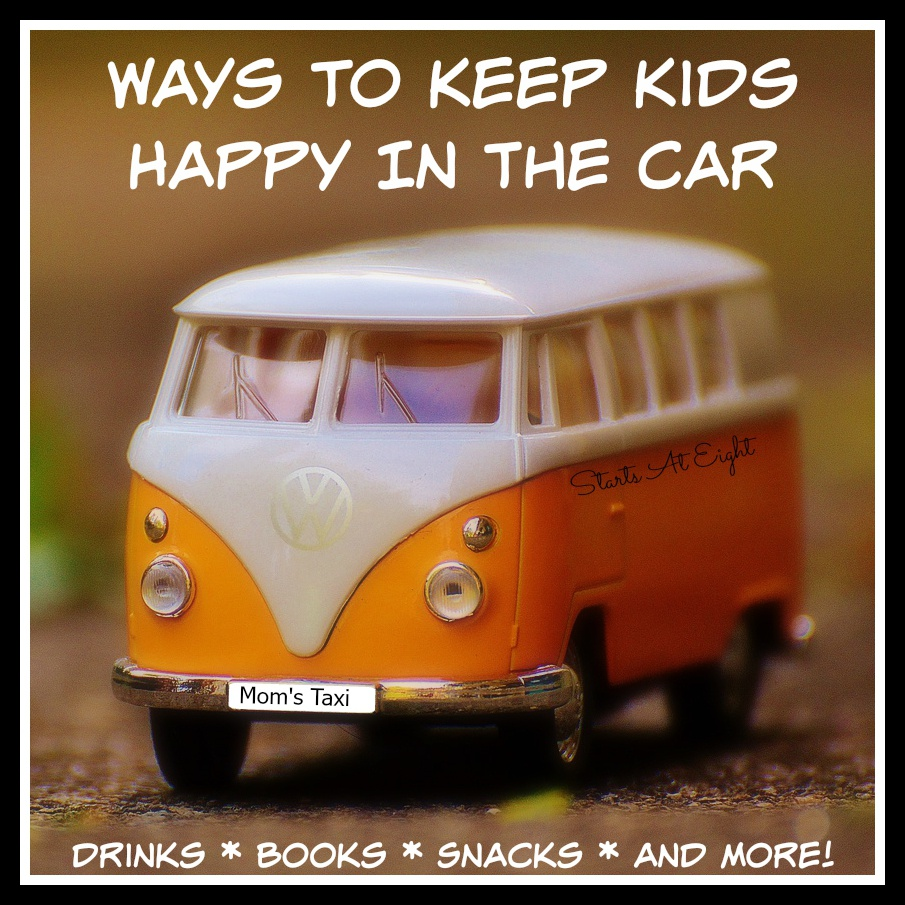 Ways To Keep Kids Happy In The Car