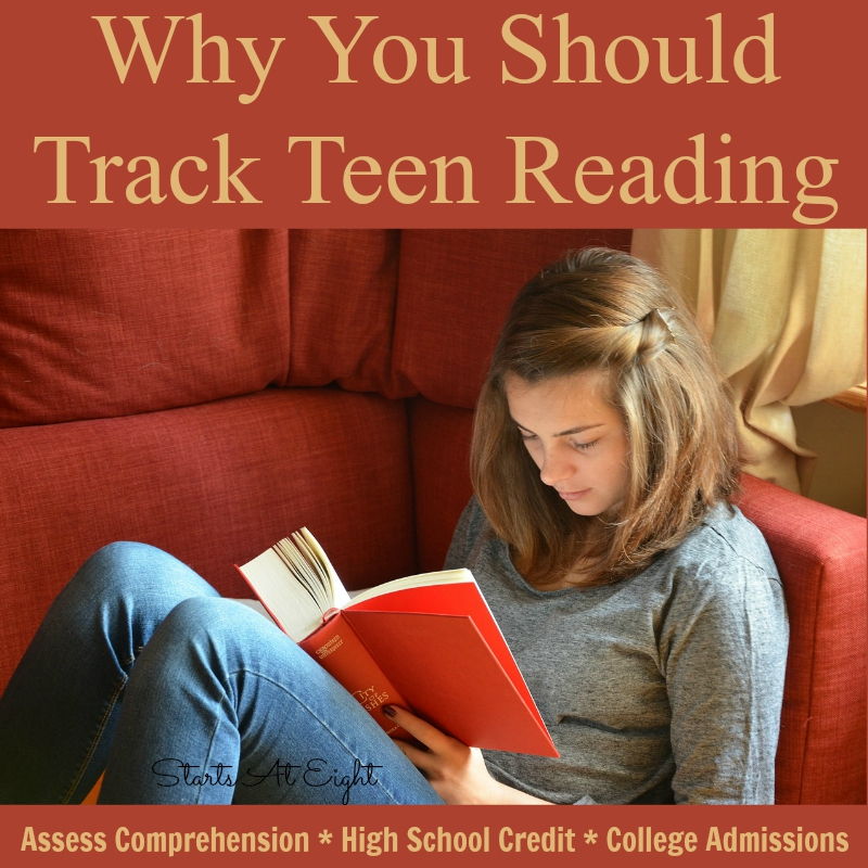 Why You Should Track Teen Reading from Starts At Eight