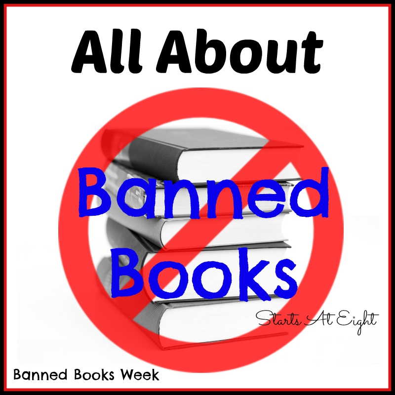 All About Banned Books from Starts At Eight