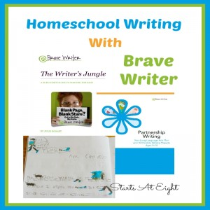 Homeschool Writing With Brave Writer from Starts At Eight