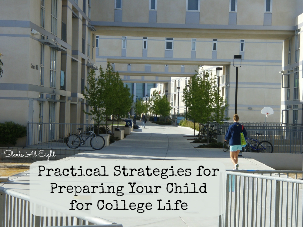 Practical Strategies for Preparing Your Child for College Life from Starts At Eight