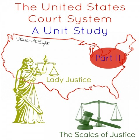 The United States Court System: A Unit Study - Part II from Starts At Eight