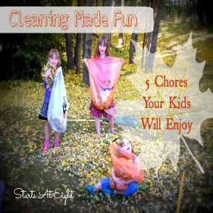 Cleaning Made Fun 5 Chores Your Kids Will Enjoy from Starts At Eight