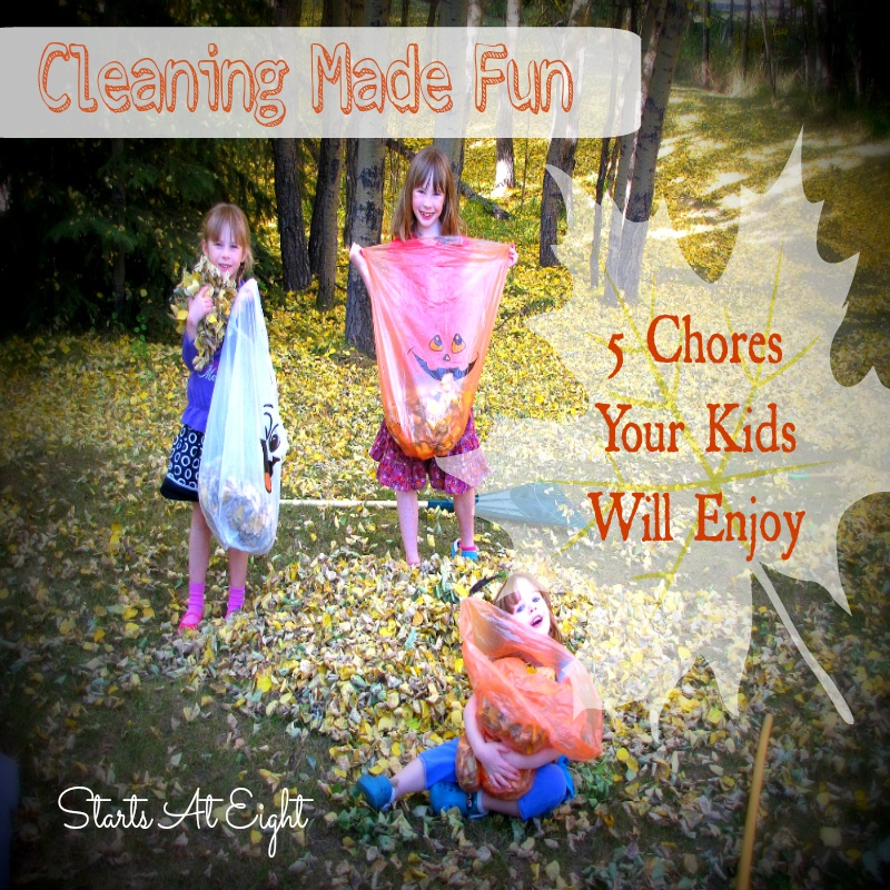 Cleaning Made Fun: 5 Chores Kids Will Enjoy