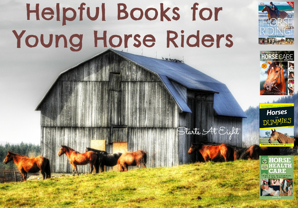 Helpful Books for Young Horse Riders from Starts At Eight
