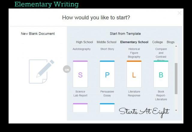 WriteWell Writing App - Elementary