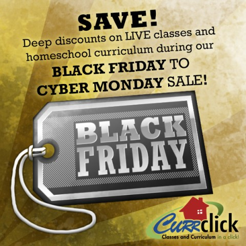 Currclick Black Friday Sale