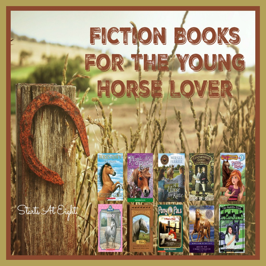 Fiction Books for the Young Horse Lover