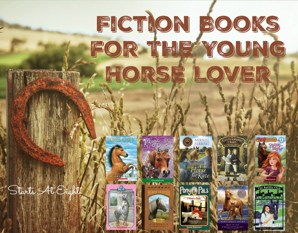 Fiction Books for the Young Horse Lover from Starts At Eight