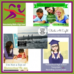 Finishing Strong ~ Homeschooling the Middle & High School Years #67