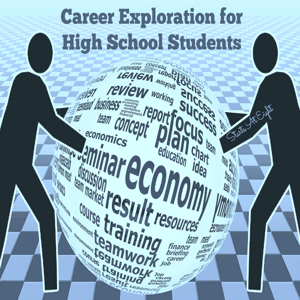 Career Exploration for High School Students from Starts At Eight