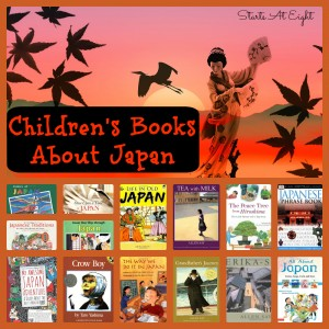 Children's Books About Japan from Starts At Eight
