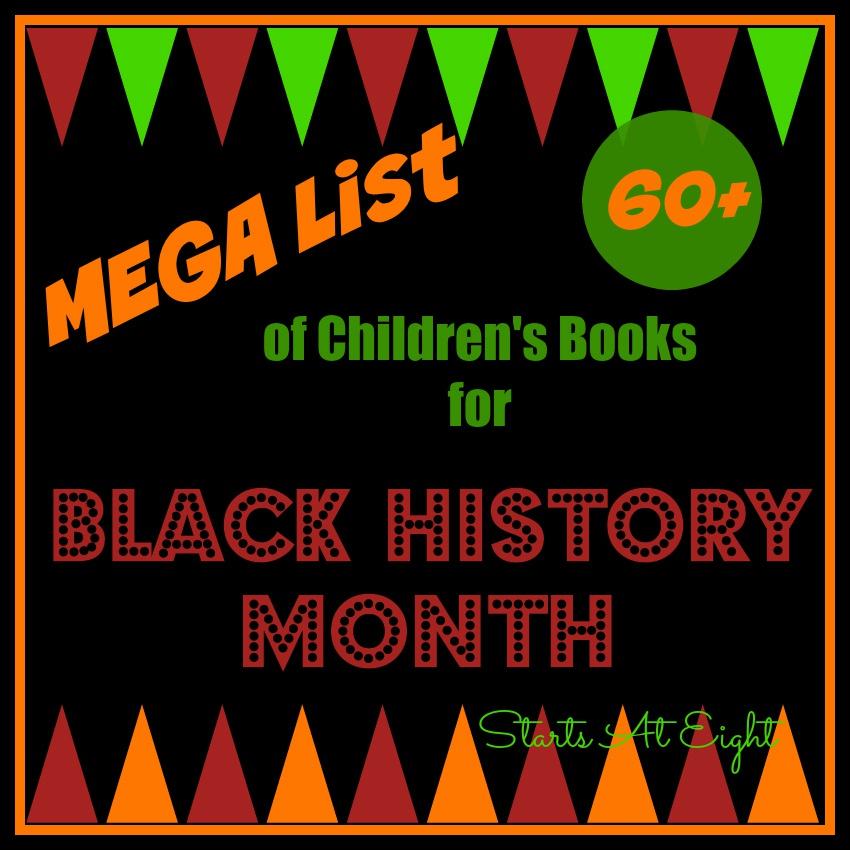 Mega List of Children's Books for Black History Month