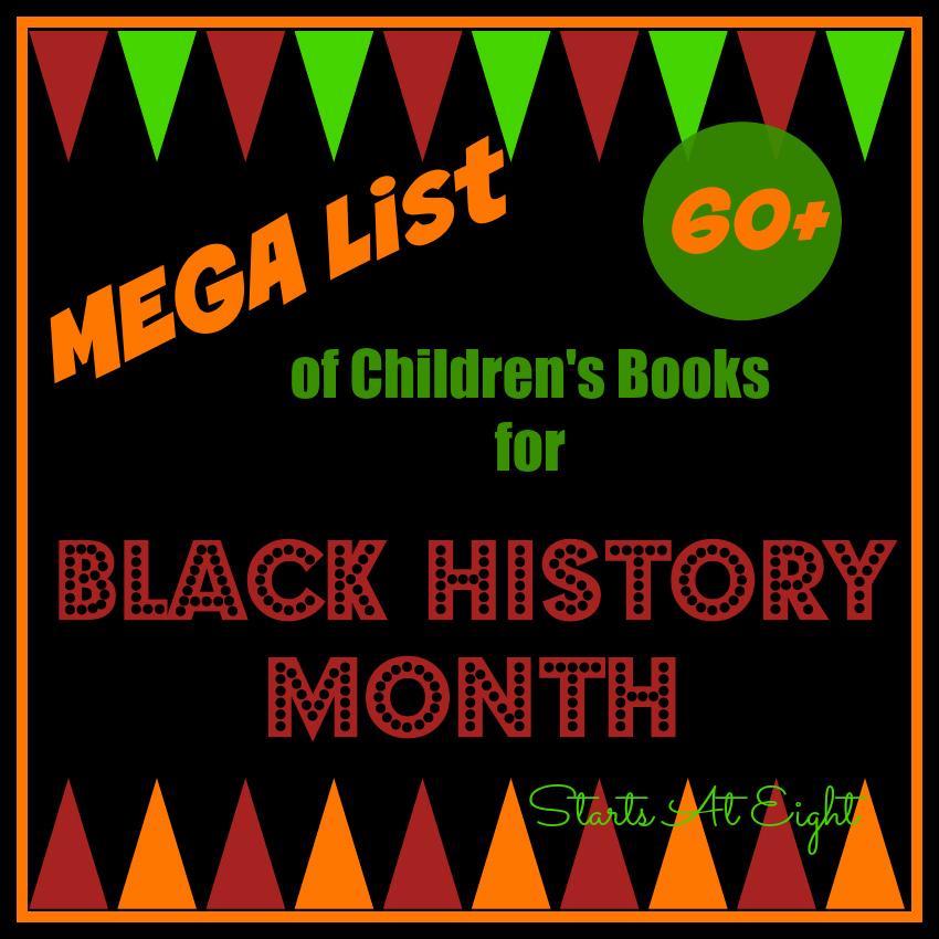 Mega List Of Childrens Books For Black History Month Startsateight