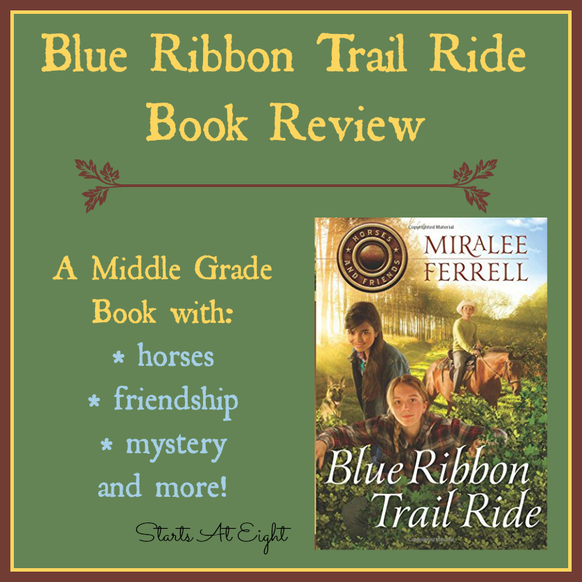 Blue Ribbon Trail Ride Book Review from Starts At Eight