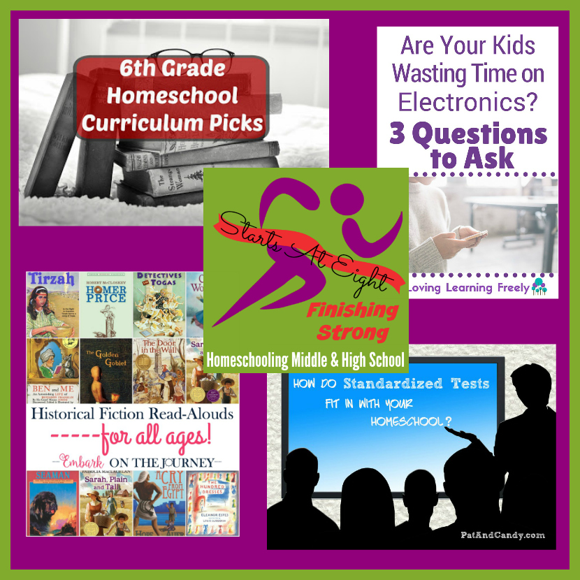 Finishing Strong ~ Homeschooling the Middle & High School Years #77 from Starts At Eight