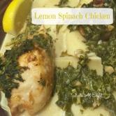 Lemon Spinach Chicken