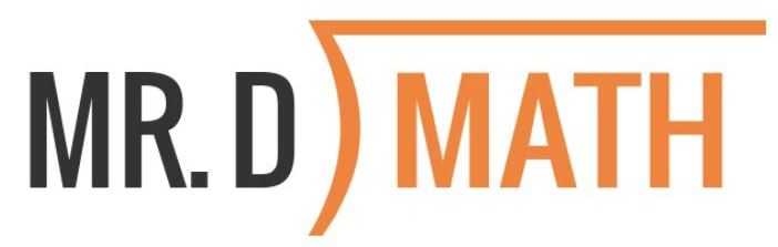 Mr D Math Logo
