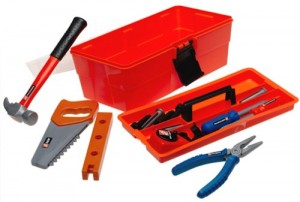 Home Depot 18-Piece Tool Box