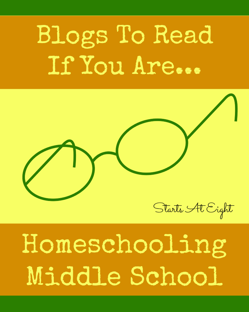 Homeschooling Middle School Blogs