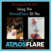 Homeschool Art Using The AtmosFlare 3D Pen